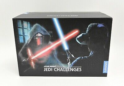 New Open OEM Lenovo Star Wars Jedi Challenges AR Headset with Controller/Beacon