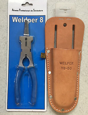 Pencil Case Welper Original Welder + Pliers Multi-Purpose Welding Mig Tig