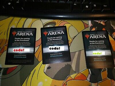 Pre Release Draft Code - Magic the Gathering: Arena - War of the Spark - Token