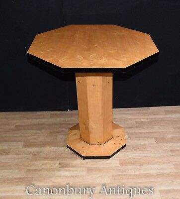 Art Deco Side Table Octagonal Cocktail Tables