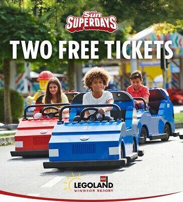 Legoland - Sun Savers Code (1 Code from 13th  April To 30th April)