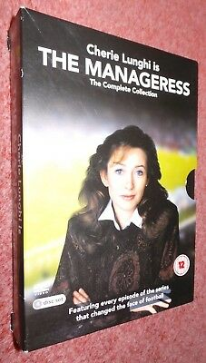 The Manageress, Series 1-2, 1 & 2 Complete Collection (DVD 4-Disc Set) Football