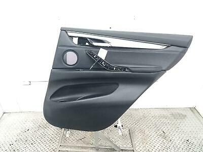 2016 BMW X5 Estate Right O/S Rear Door Card Trim Panel 411