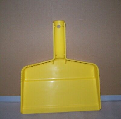 Restaurant Equipment Bar Supplies CASE OF 6 CARLISLE PLASTIC DUST PAN YELLOW