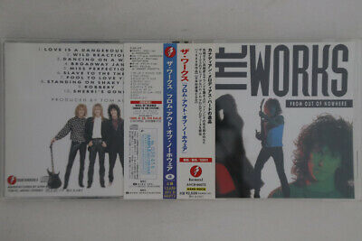 CD WORKS From Out Of Nowhere AVCB66073 A&M JAPAN OBI PROMO