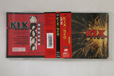 CD KIX Live AMCY519 ATLANTIC JAPAN OBI PROMO