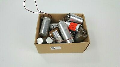 Mixed Lot of vintage can capacitors - see pics for values - Dublier