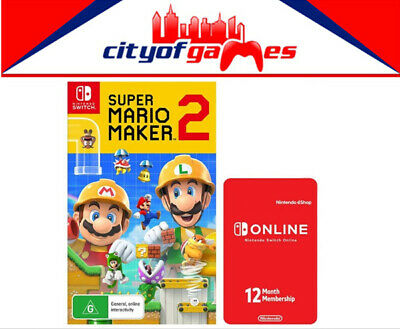Super Mario Maker 2 Limited Edition Nintendo Switch Brand New In Stock