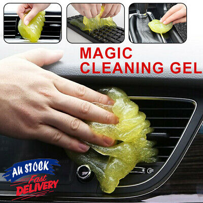 Dust Cleaning Dirt 1 x Compound Gel Clean Cyber Magic Keyboard Cleaner