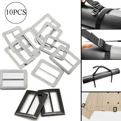 Bags Decoration Adjust Buckles Webbing Slider Tri-glide Buckle Backpack Straps
