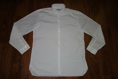 Great Burberry Formal  Shirt , White, Cotton, Size 17,5, Excellent Condition