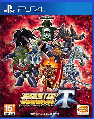 Super Robot Wars T Asia Chinese/English subtitle PS4 BRAND NEW