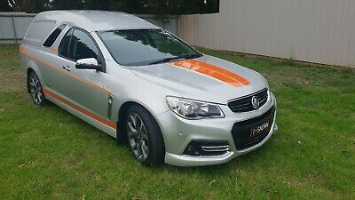 Holden SS V SSV SANDMAN PANEL VAN 2014 UTE CUSTOM TOP CANOPY ss commodore panel