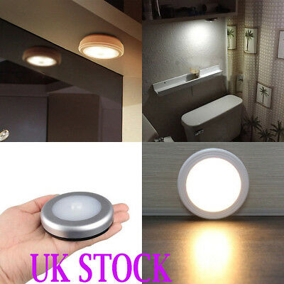 3X 6LED Wireless PIR Auto Motion Sensor Infrared Night Light Cabinet Stair Lamps