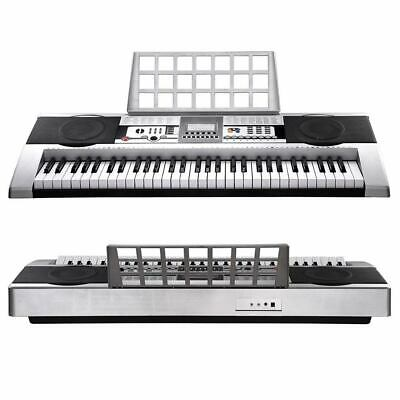 61 Keys Electronic Keyboard Electric Piano Digital Holder Music LCD MK-922
