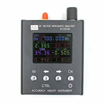 N1201SA UV RF Vector Impedance ANT SWR Antenna Analyzer Meter Tester