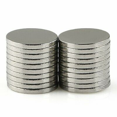 20PCS Super Strong Round 10mm X 1mm Magnet Disc Fridge Rare Earth Neodymium