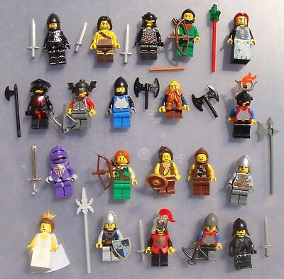 1x cas067 LEGO Minifigures Classic Castle Omino Minifig 6090 Royal Knight