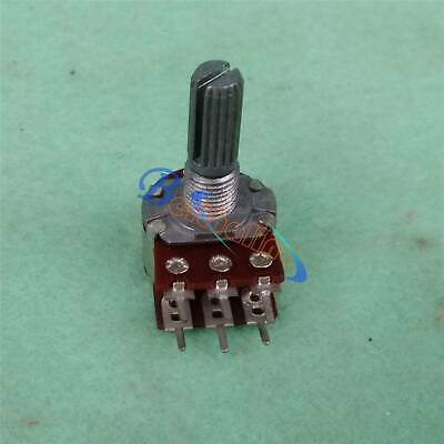 10pcs Linear Dual Taper Rotary Potentiometers RD1480-02A 50K OHM 20mm
