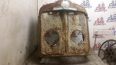Fordson Super Major Nose Cone with Grills and Badge. Original