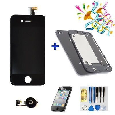 new For iphone4 Replacement LCD Touch Screen Digitizer Assembly  +back cover