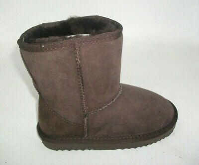 Eastern Counties Leather Charlie Sheepskin Boots UK 12 EU 30.5 CH12 37