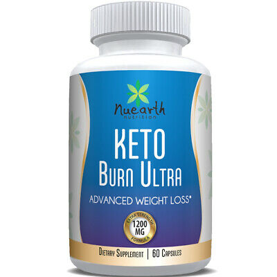 KETO BURN ULTRA - ADVANCED WEIGHT LOSS (60 Capsules) Purefit Slimming FREE POST
