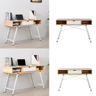 Modern Wooden Computer Writing Desk PC Laptop Desk Table Home Office Furniture