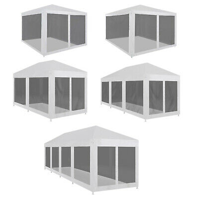 3x3m/4x3m/6x3m/9x3m/12x3m Outdoor Gazebo Party Wedding Tent with Mesh Sidewalls