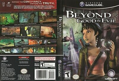 Nintendo GameCube replacement game case and Covers Beyond Good and Evil