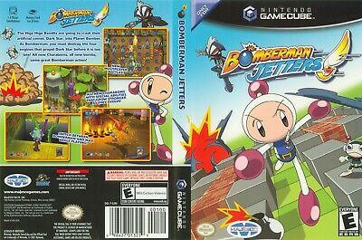 Nintendo GameCube replacement game case and Covers Bomberman Jetters