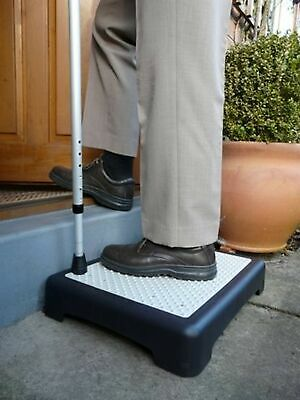 Instant Height Non Slip Outdoor Step Half Step instantly reduces height of do...
