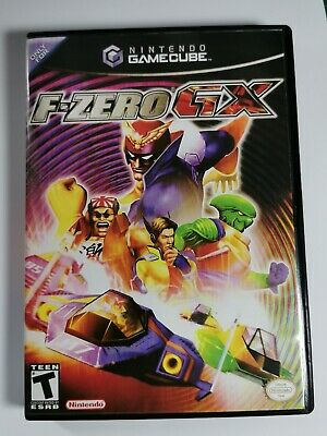 Nintendo GameCube replacement game case and Covers F-Zero GX