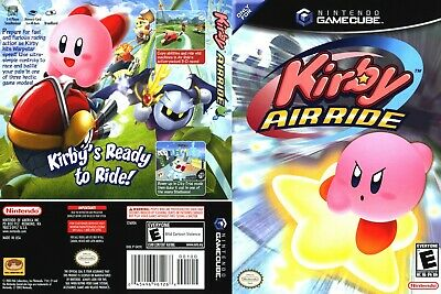Nintendo GameCube replacement game case and Cover Kirby Air Ride