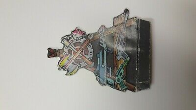 ACC zN30 He-man motu  castle grayskull cardboard insert piece weapons rack