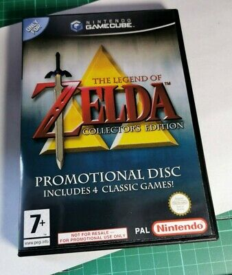 Nintendo GameCube replacement game case , Cover Legend of Zelda: Collector's Ed