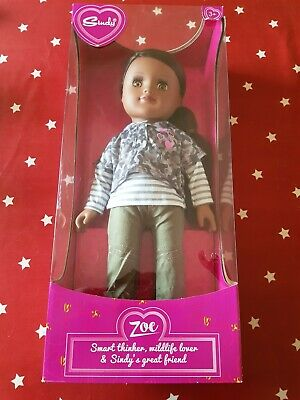 New Boxed Tesco Pedigree Sindy Zoe Doll Full Size Discontinued