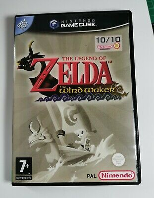 Nintendo GameCube replacement game case ,Cover Legend of Zelda: The Wind Waker,