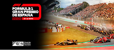 Ticket Formula 1 - Spain Grand Prix - May 10th to 12th