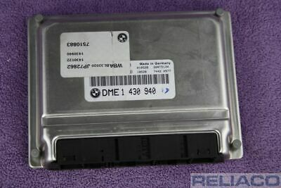7502363 BMW 3 series  engine ECU 0 261 204 420 DME 1 430 940 0261204420 1430940