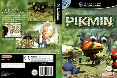 Nintendo GameCube replacement game case and Cover Pikmin
