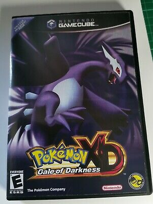 Nintendo GameCube replacement game case and Cover Pokemon XD: Gale of Darkness