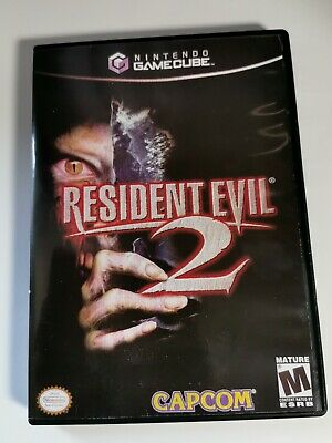 Nintendo GameCube replacement game case and Cover Resident Evil 2