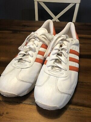 competitive price de89d 74aa5 Vintage Adidas COUNTRY Orange white Sneakers Mens 12 Ape 779 672799