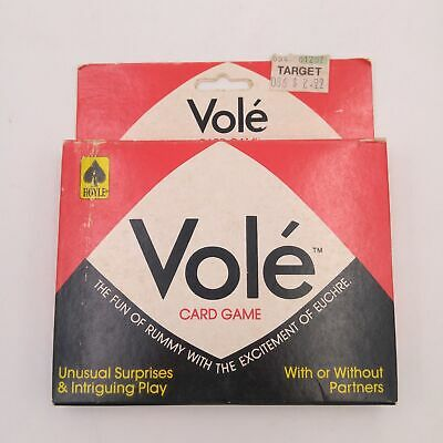 Vintage Vole Rummy Card Game - Hoyle 1983 100% Complete
