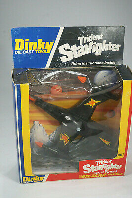 Dinky Toys 362 Trident Starfighter Space Toy sealed in Box  - Ladenfund MISB NOS