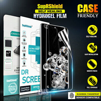 SupRShield Samsung Galaxy S10 5G S10E Plus HYDROGEL Full Cover Screen Protector
