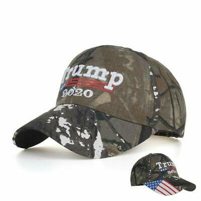 USA Flag Baseball Caps Trump 2020 Cap Camouflage Keep America Great Hat Camo