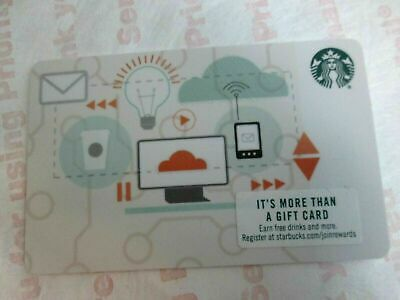 STARBUCKS CORPORATE TECHNOLOGY GIFT CARD New /MINT-No Value