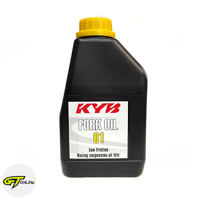Yamaha KYB Fork Oil 01 Low Friction Racing Suspension Oil 1 Litre | 907933800500